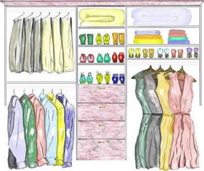 Organized Closet Clipart 10 Tips To Help You Organize