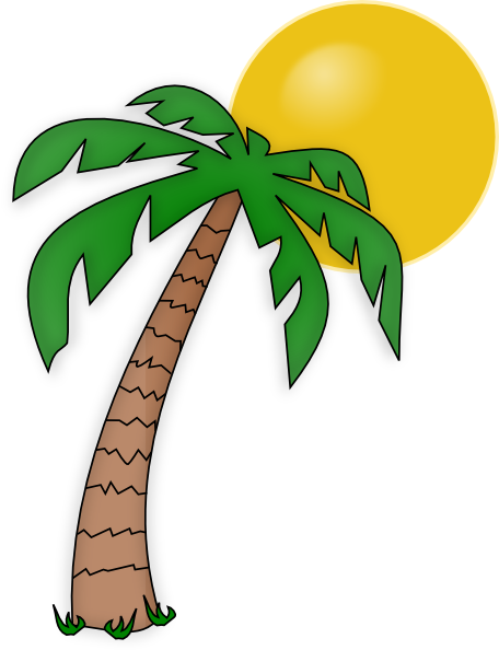 Palm Tree Clip Art Clip Art