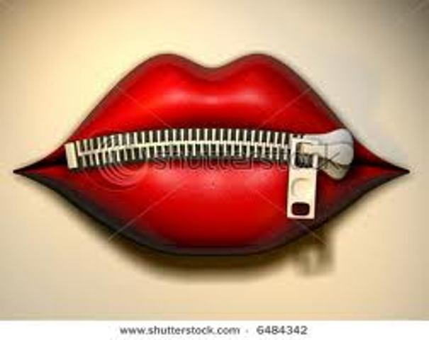 Zipper Mouth Clipart - Clipart Suggest
