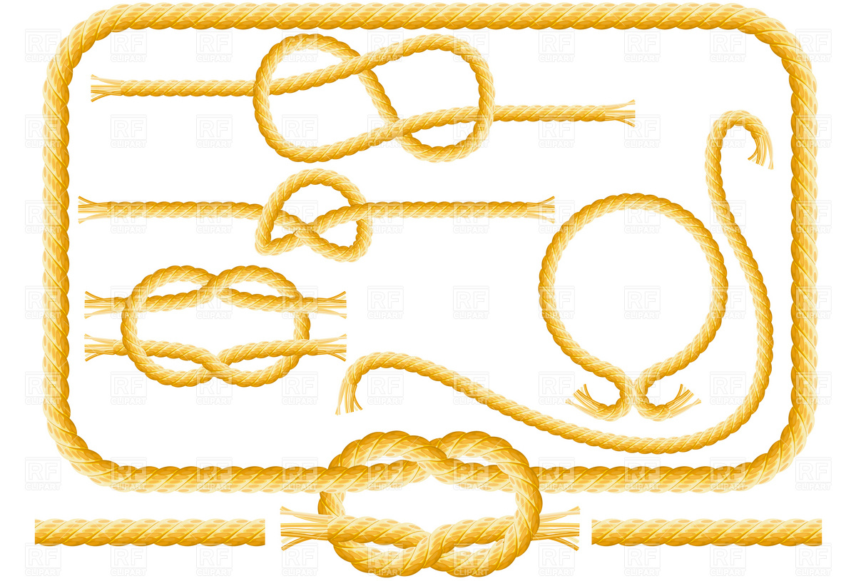 Rope Frames And Knots 4869 Borders And Frames Download Royalty Free