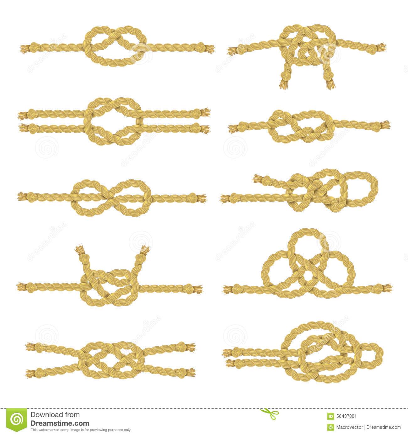 Как сделать морские узлы фото