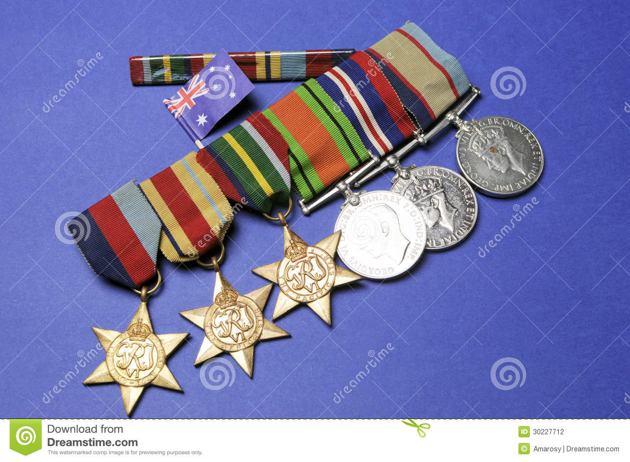 Wwii Australian Military Army Corps Medals And Memorabillia For Anzac