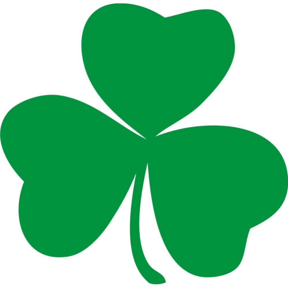 Adesivo Irish Shamrock Decoracao Parede Iz Xvzxxpz Xfz Xsz Xim   Free