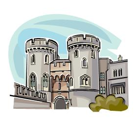 Castle From Microsoft Publisher Clipart