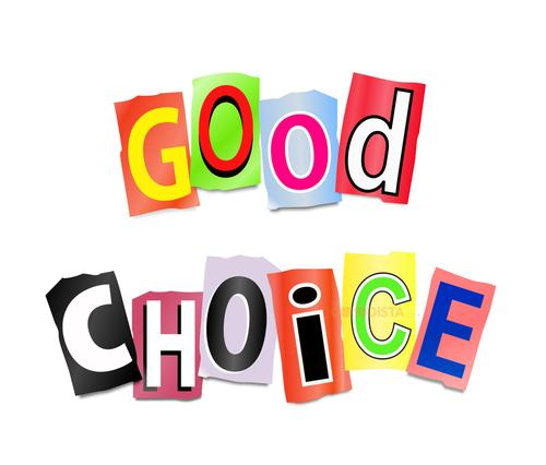Changes Is A Good Choice   Words Good Choice In  Funny Letters
