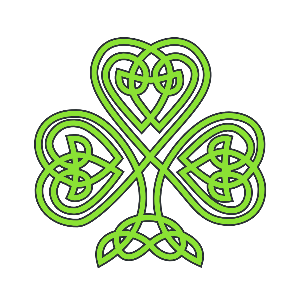 Clipartist Net   Clip Art   Celtic Shamrock Flower Treehugger Peace