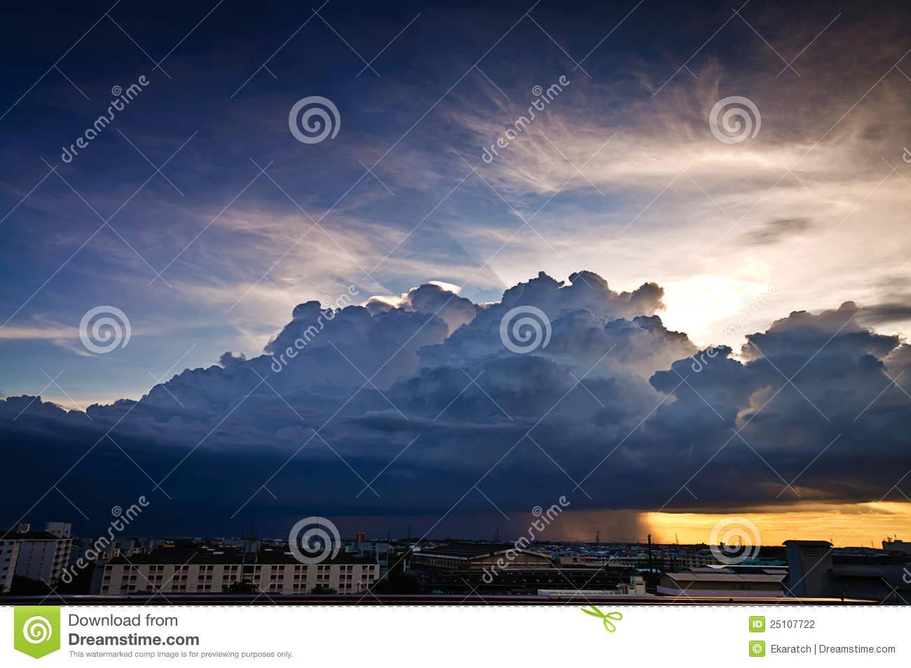 Nimbus Clouds Clipart - Clipart Kid