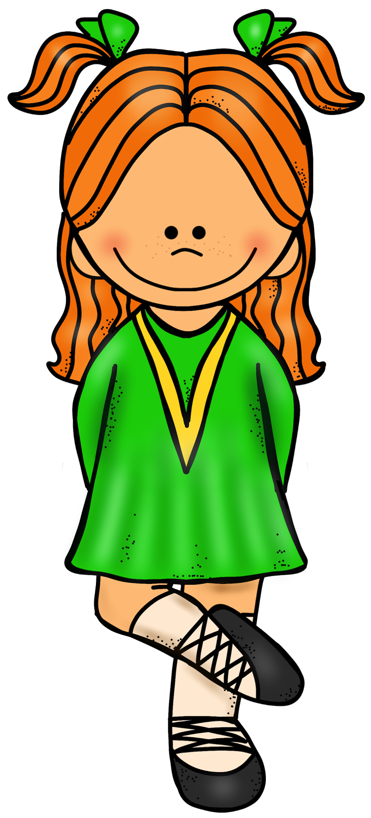 Educlips   Educasong   Free  Irish Dancer Clip Art
