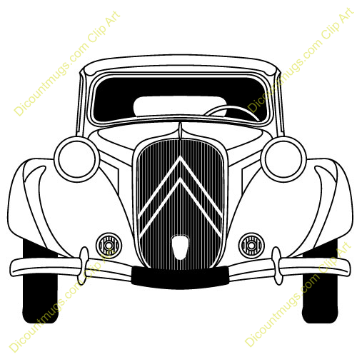 Ford Clipart 1930s Vintage Ford V 8 Front #W3F1DY ...