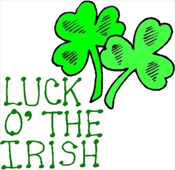 Free 1 Luck O The Irish Clipart   Free Clipart Graphics Images And