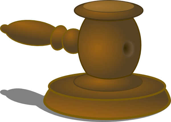 Judge Hammer Clip Art At Clker Com   Vector Clip Art Online Royalty