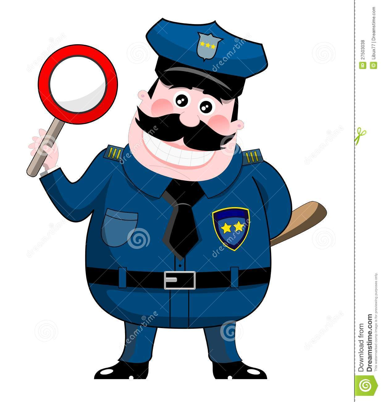 Fat Police Clipart - Clipart Kid