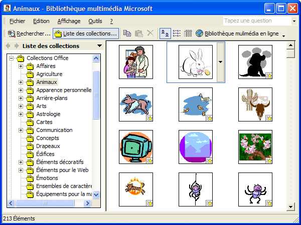 Microsoft Publisher 2002 Clip Gallery  Click To Enlarge