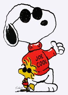 Snoopy Joe Cool Clipart - Clipart Kid
