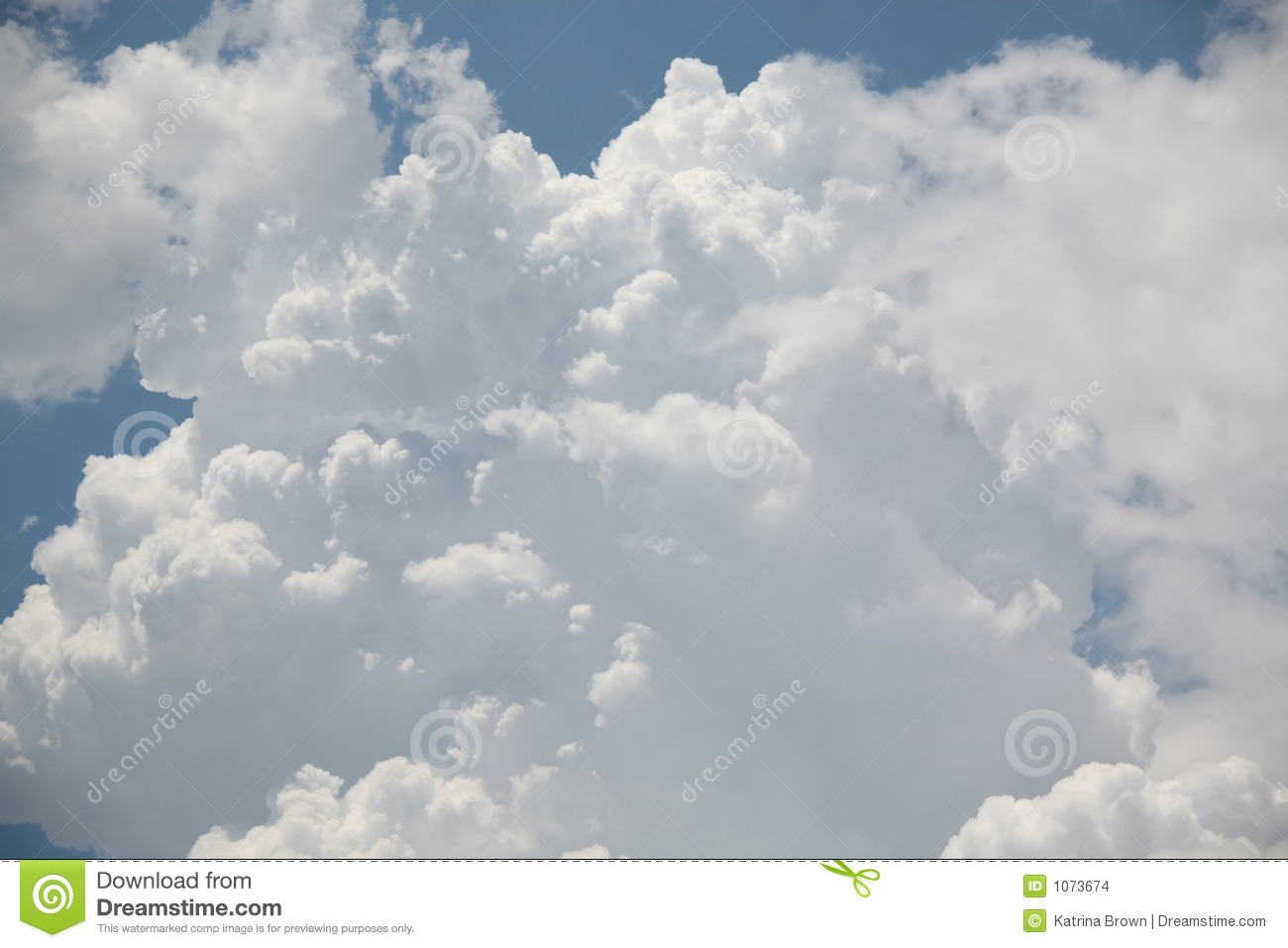 Thunderstorm Clouds Stock Images   Image  1073674