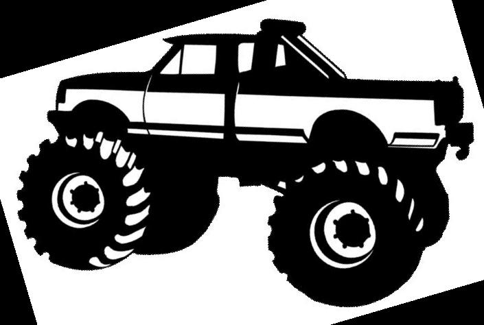 Cowboy Clip Art Truck