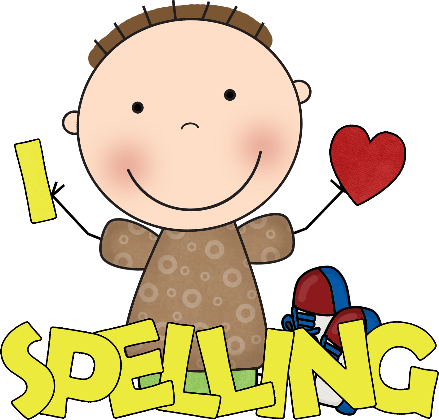 Worksheet Child Spelling spelling clipart kid use these free images for your websites art projects reports and