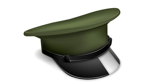 Army Hat Clipart Military Cap Icon Tutorial
