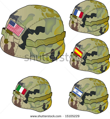 Army Hat Clipart Vector Army Helmet   Stock