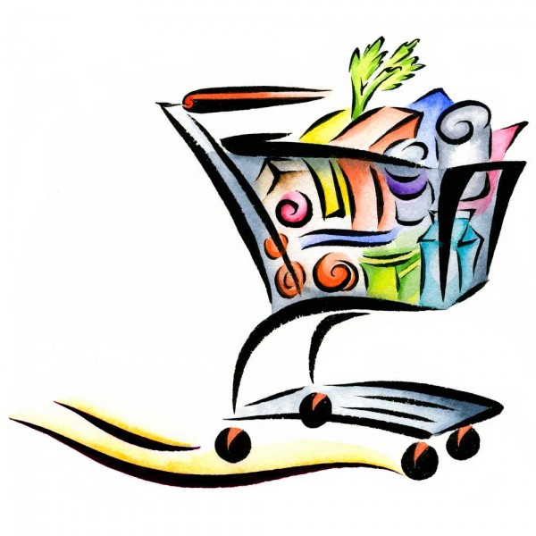 Cart Grocery Cart Icon Grocery Shopper Shopping Cart Image Clipart