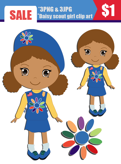 Daisy Girl Scout Clipart - Clipart Kid