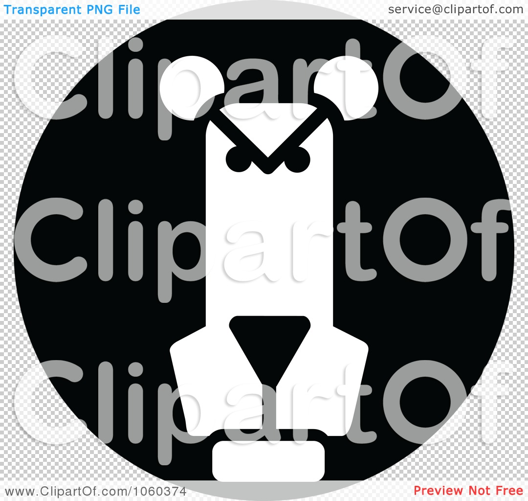 Illustration Of A Black And White Lion Logo   1 By Seamartini Graphics