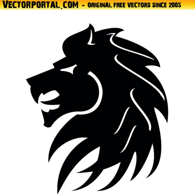Lion Head Tribal Style Icon Vector Vector   Free Download