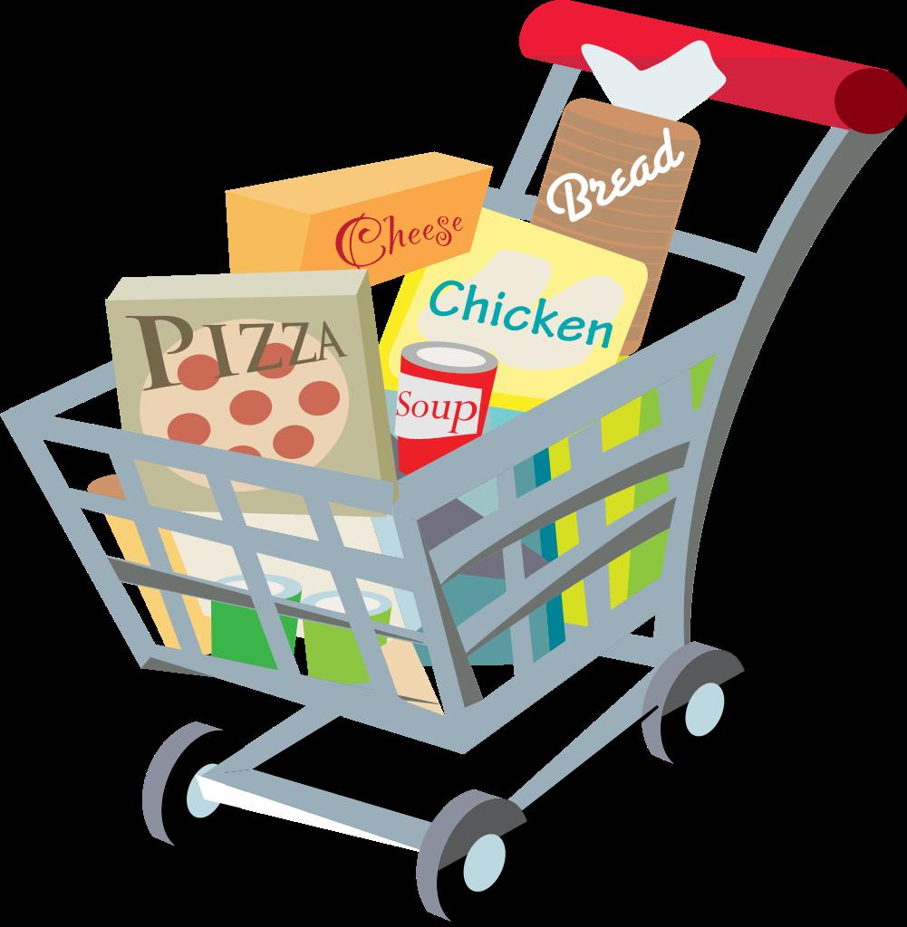 Clip Art Cart Full Shopping Clipart - Clipart Kid