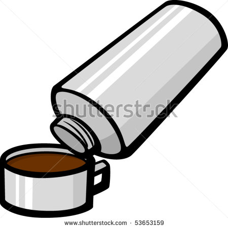 Pouring Coffee Clipart From Vacuum