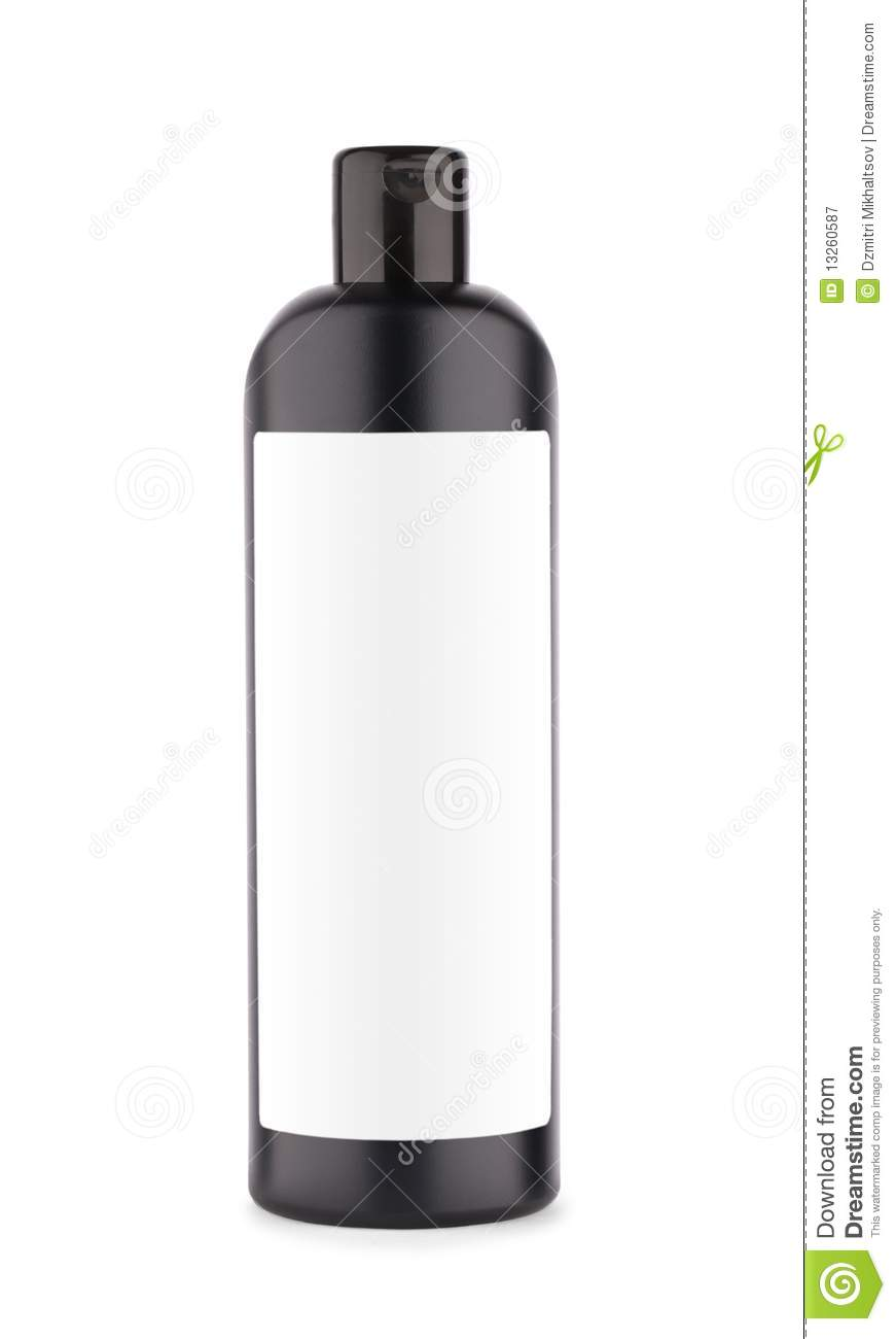 Shampoo And Conditioner Bottles Clip Art Black Bottle Of Shampoo