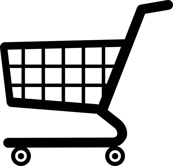 Grocery Cart Clipart - Clipart Kid