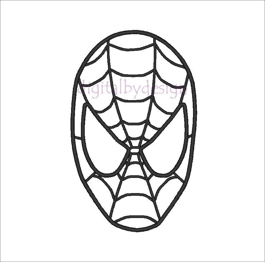 It's just a picture of Spider Web Template Printable inside pumpkin