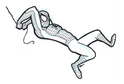 Spider man outline qdqyie clipart kid - Spider outline clip art ...