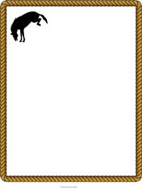 22 Free Western Border Clip Art Free Cliparts That You Can Download To