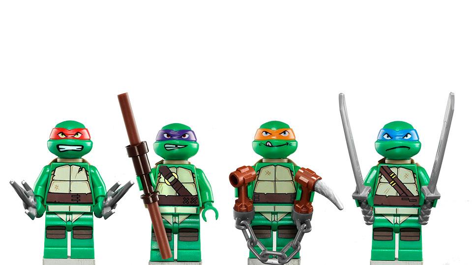 Лего как сделать черепашку ниндзя