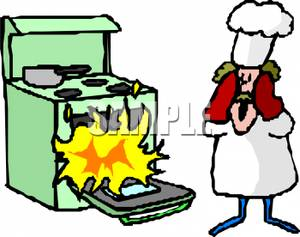 Bad Cooking On Stove Clipart - Clipart Kid