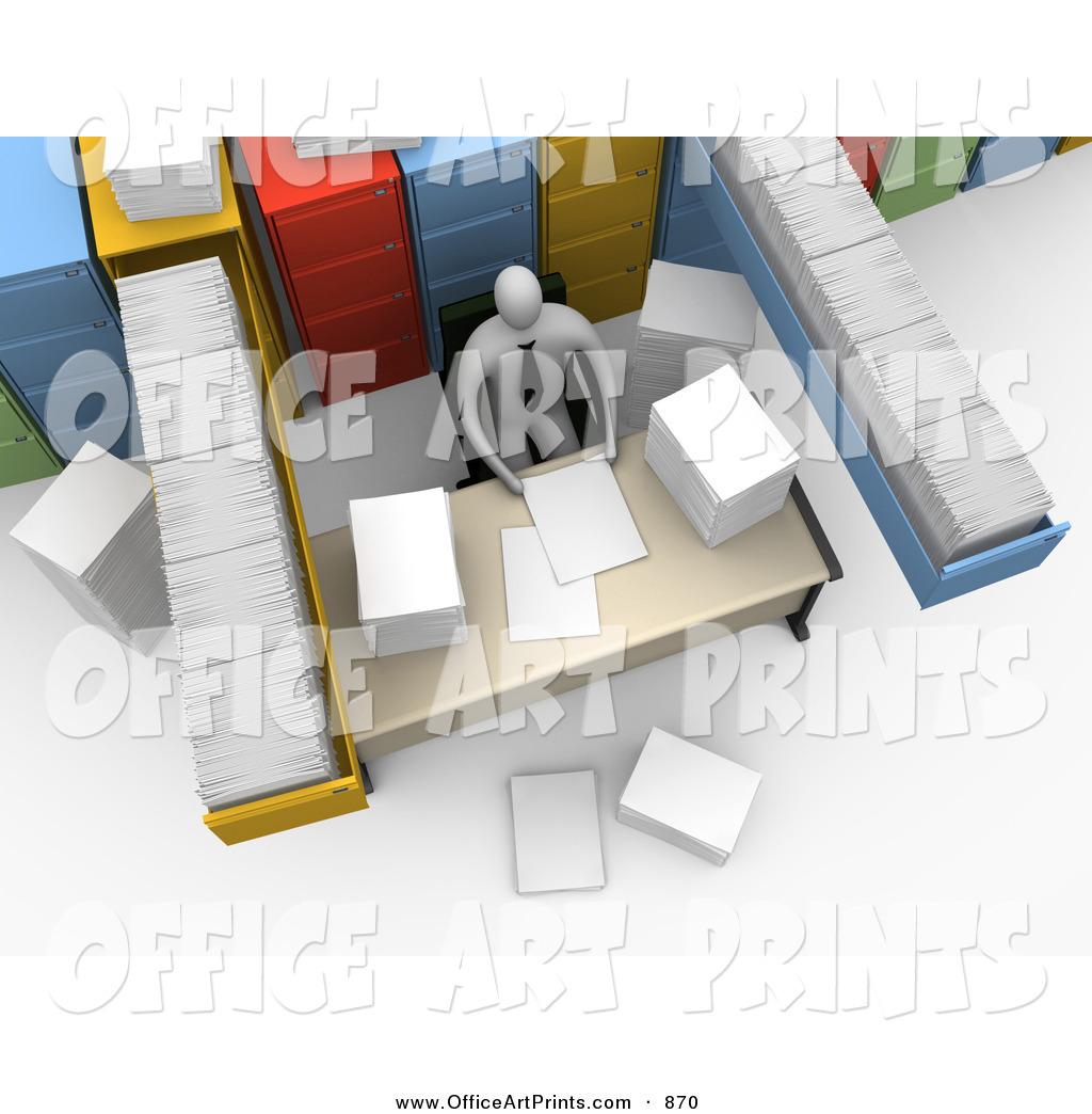 Go Back   Images For   Messy Office Desk Clipart