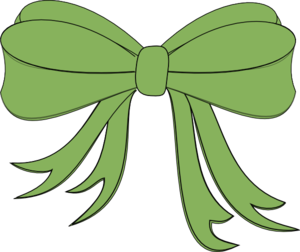 Green Decorative Bow Clip Art At Clker Com   Vector Clip Art Online