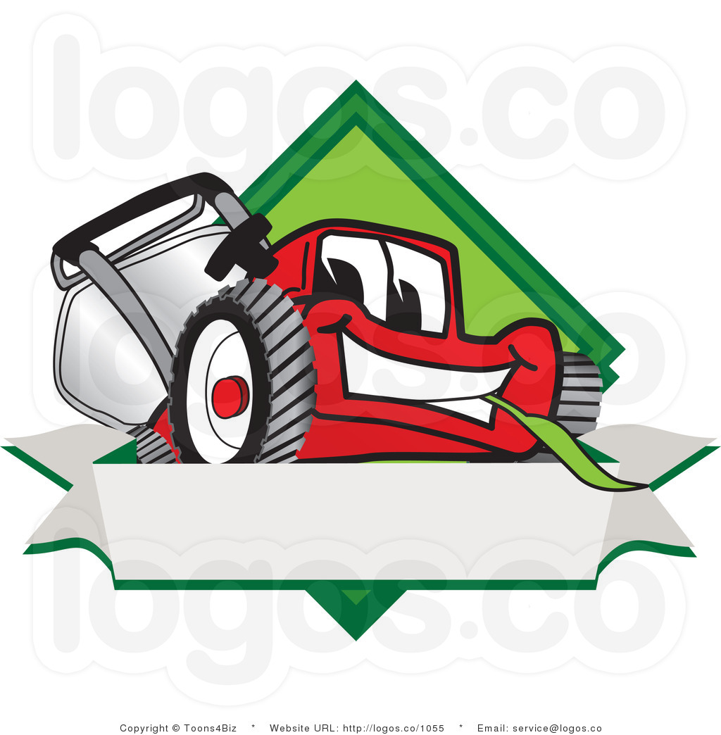 Landscaping Clipart Behind Clipart Royalty Free Cartoon Vector Logo Of