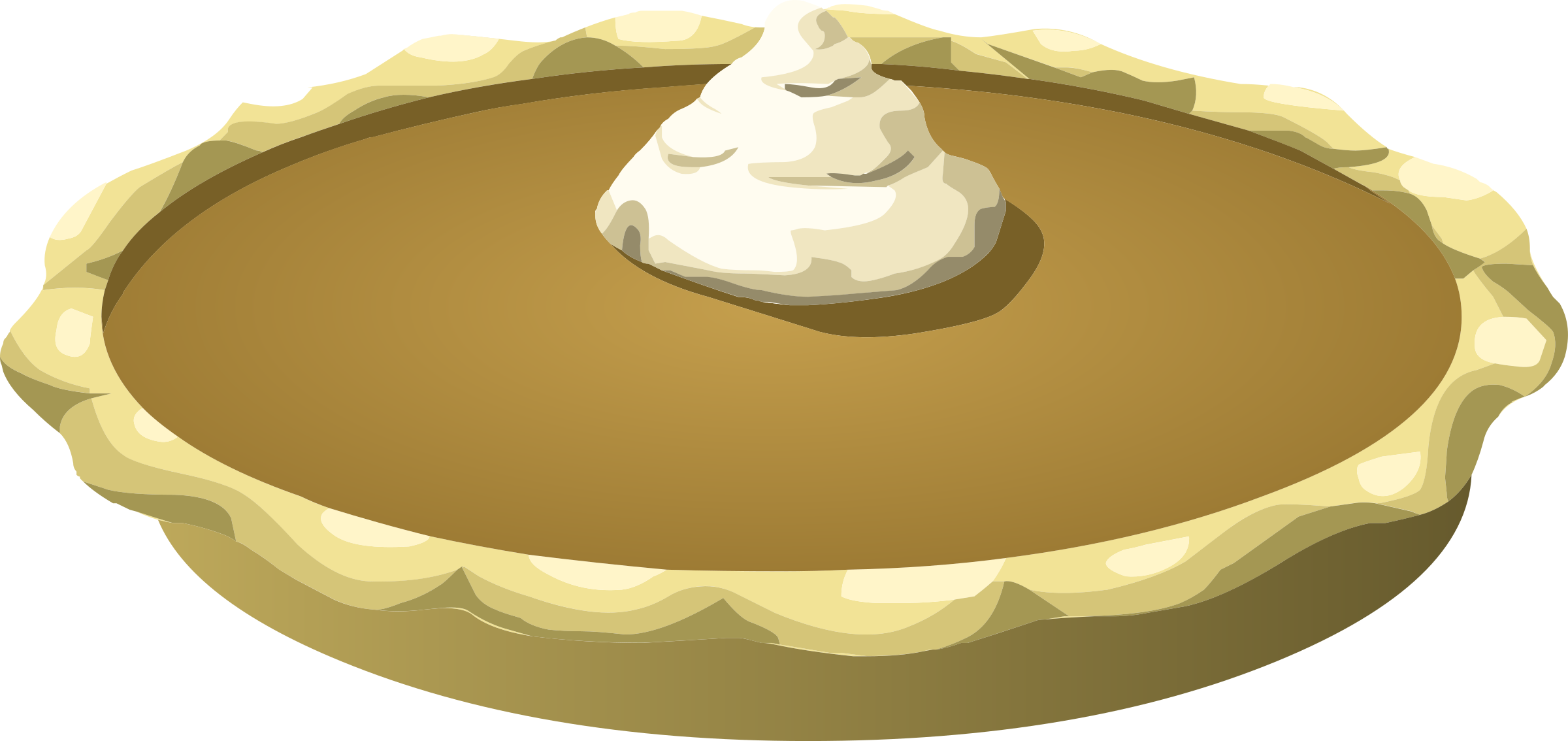 Pumpkin Pie Clipart - Clipart Suggest