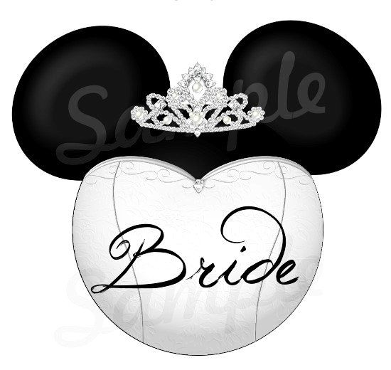 Mickey And Minnie Wedding Clip Art 8 Disney Inspired Mickey Minnie