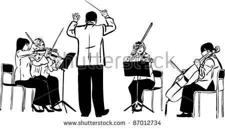 String Orchestra Clipart Images   Pictures   Becuo