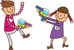 And Stock Art  21 Watergun Illustration Graphics And Vector Eps Clip