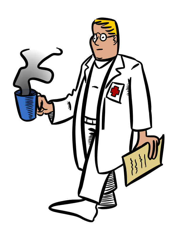 Free Cartoon Doctor Clip Art