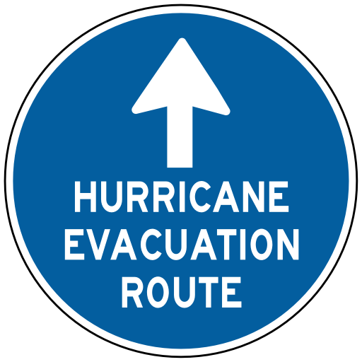 Hurricane Evacuation Route   Http   Www Wpclipart Com Travel Us Road