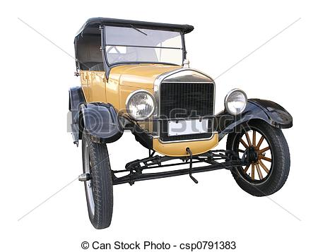 Model T Ford Clipart 1926 Ford Model T   Csp0791383