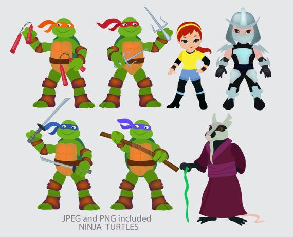 Ninja Turtle Eyes Clipart Ninja Turtles Digital Clipart