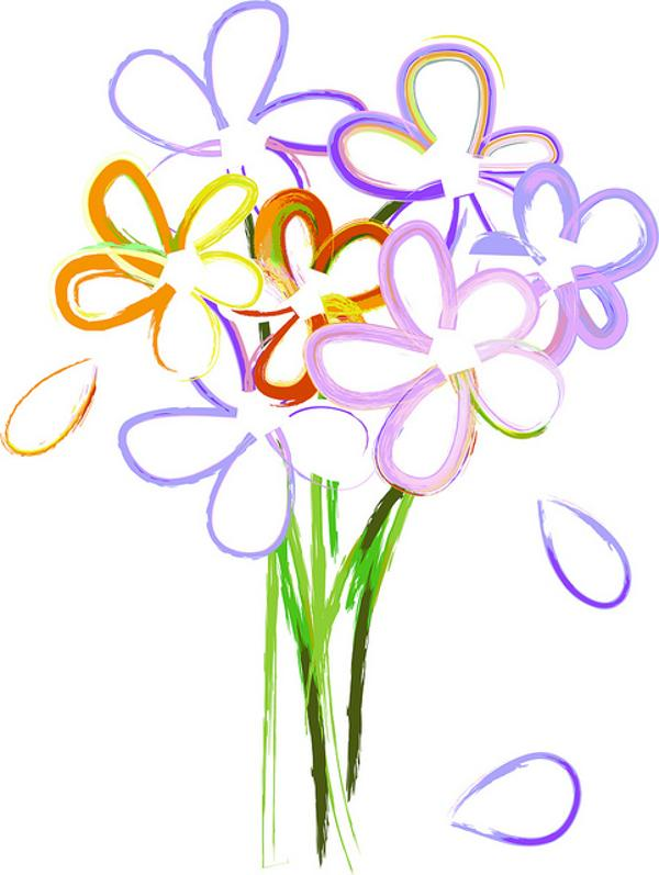 Purple Flower Bouquet Clipart   Clipart Panda   Free Clipart Images