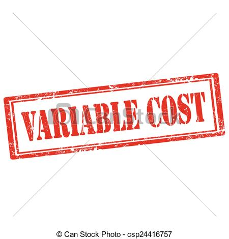 Vector   Variable Cost Stamp   Stock Illustration Royalty Free