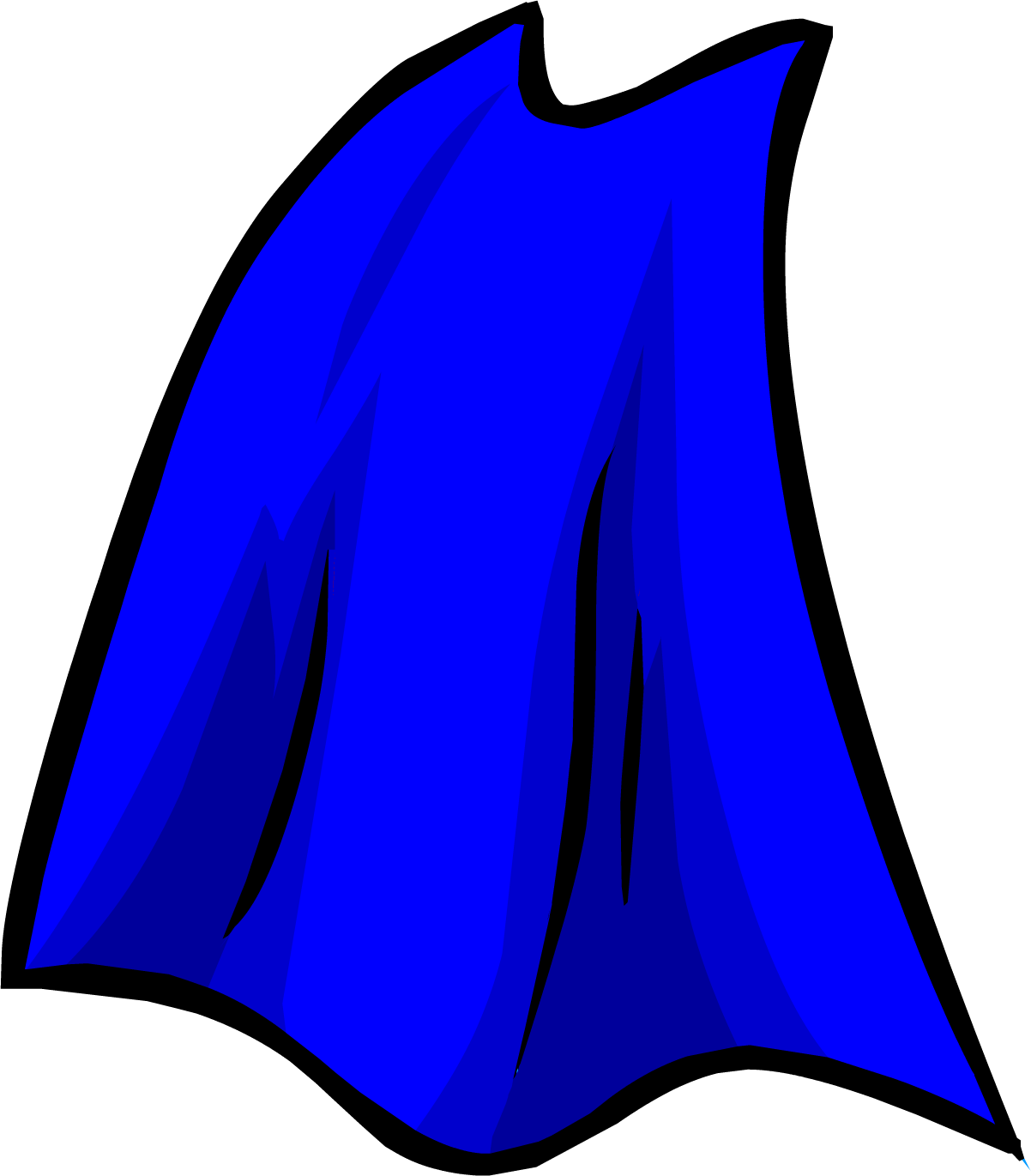 Blue Cape   Club Penguin Wiki   The Free Editable Encyclopedia About